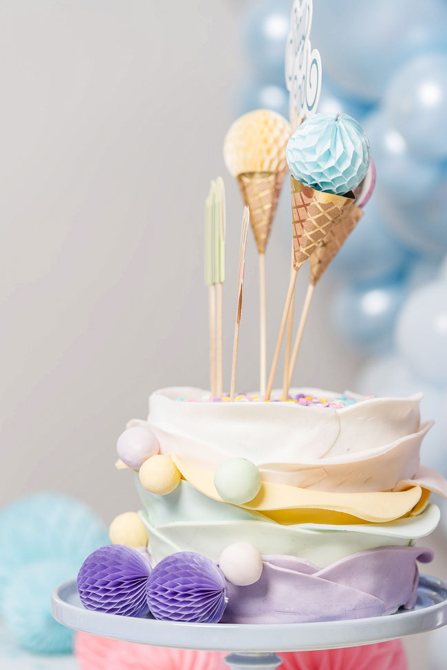 Ice Cream Party Styled Photo Shoot