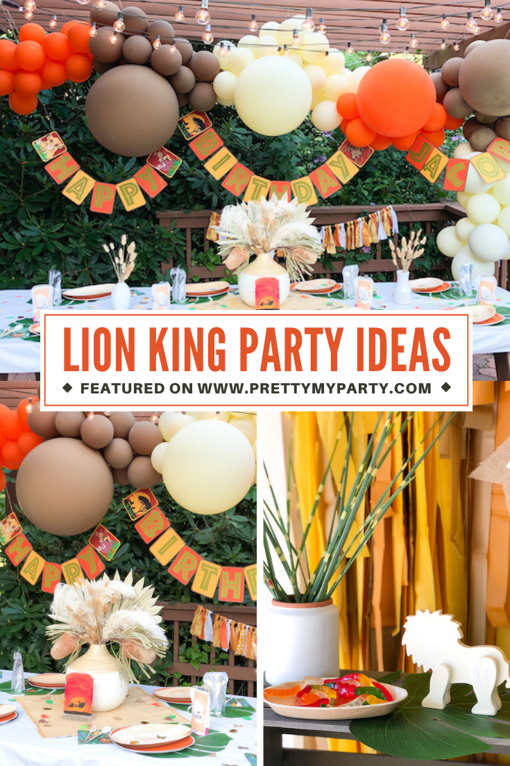 Boho Lion King Party on Pretty My Party