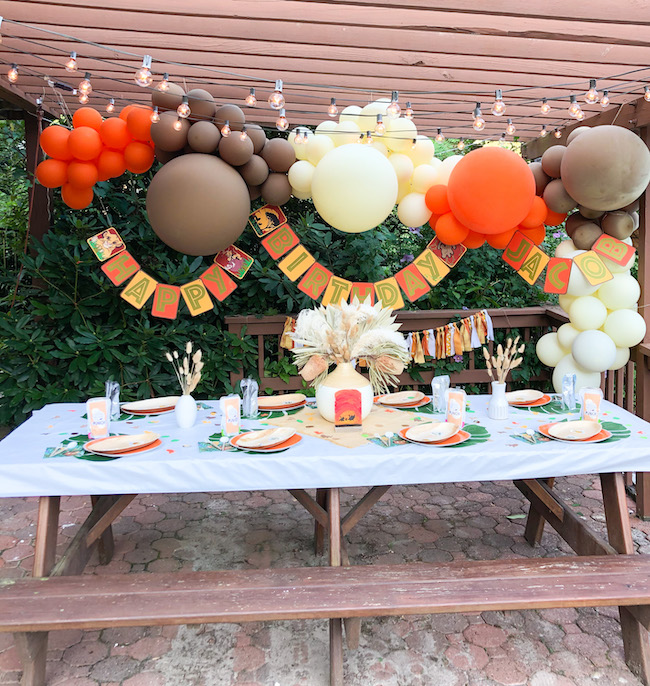 Boho Lion King Party Ideas