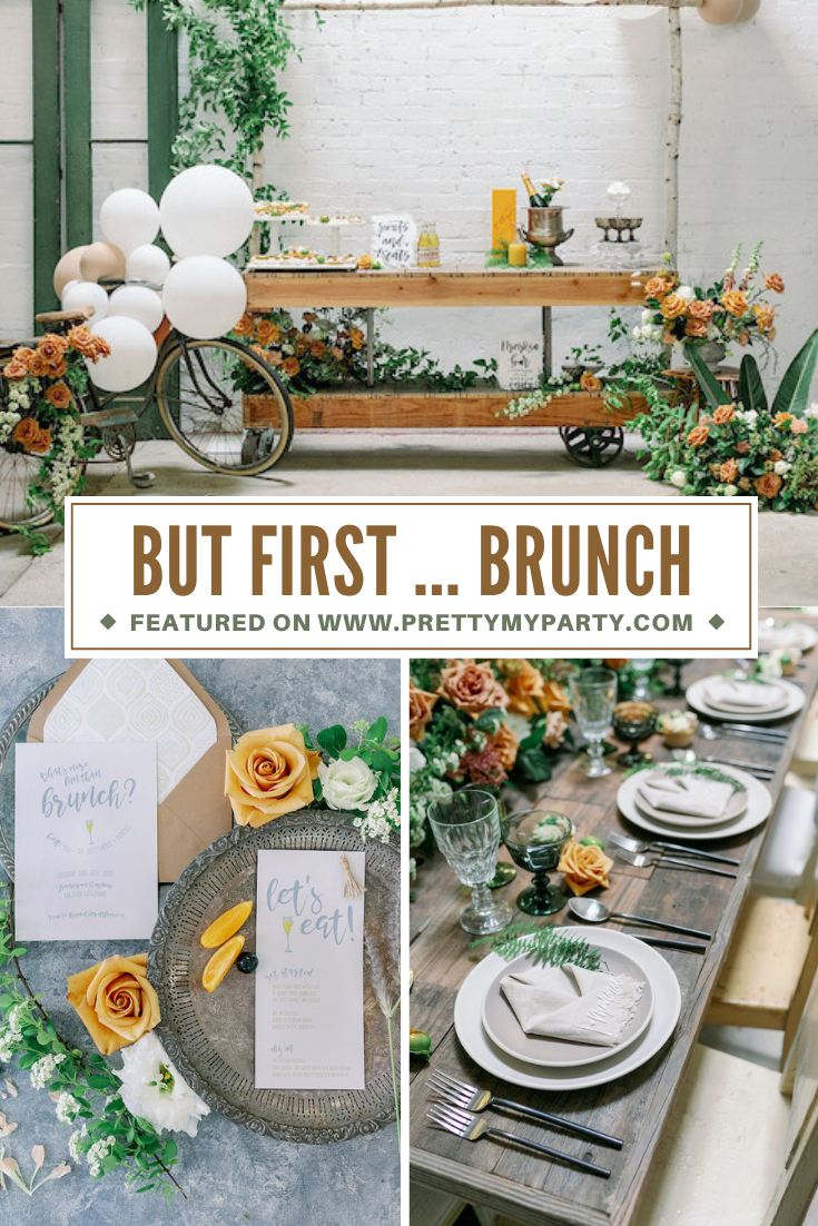 But First ... Brunch Ideas on Pretty My Party