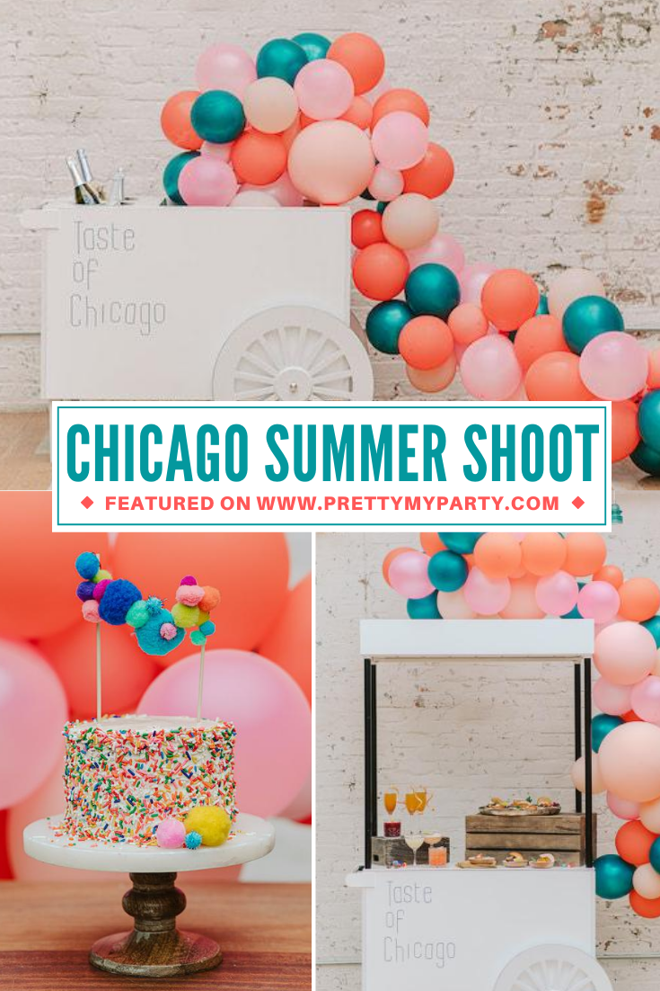 Chicago Summer Styled Shoot on Pretty My Party