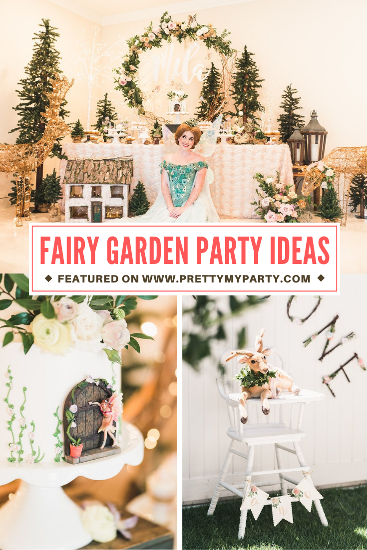 Fairy Garden Party on Pretty My Party