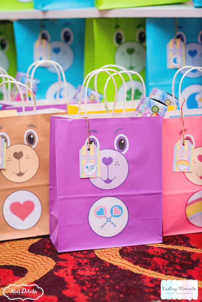 Care Bear Favor Bags