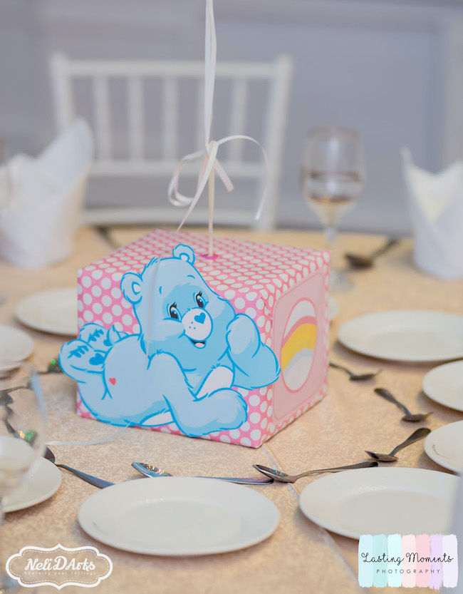 Care Bear Party Centerpieces