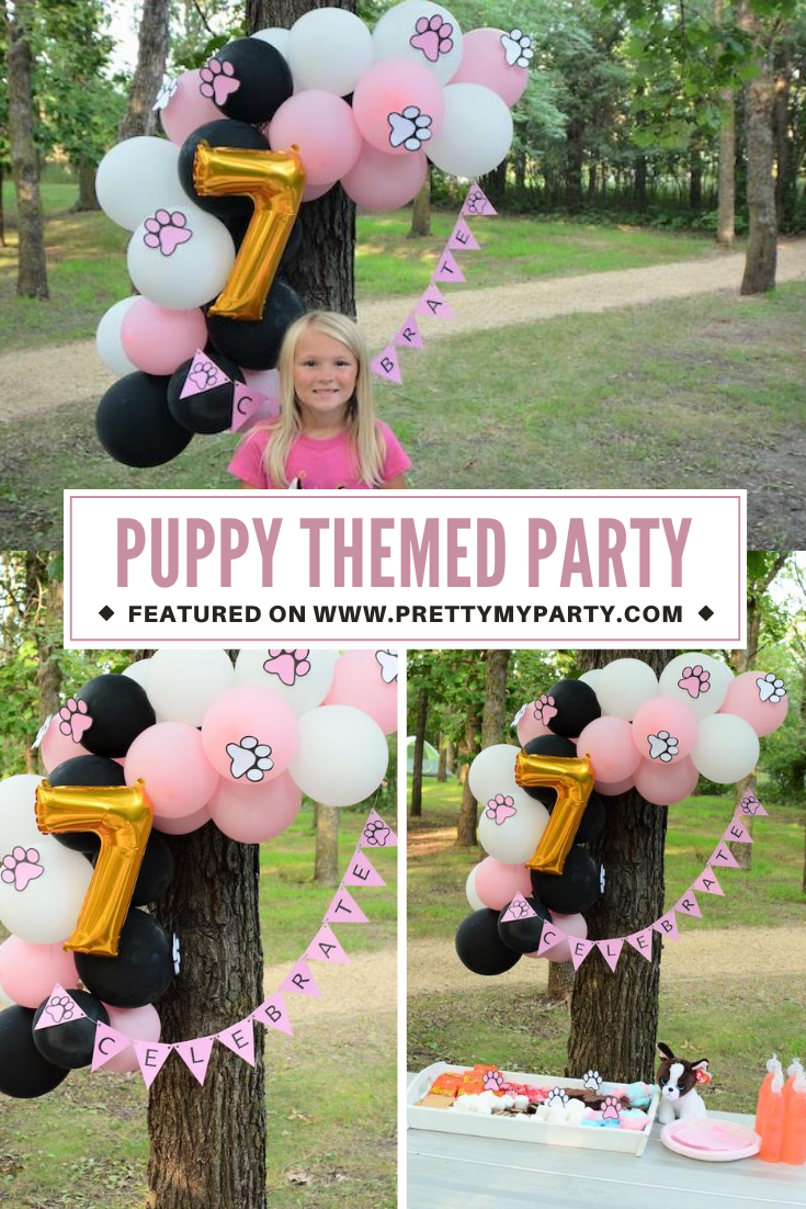 Puppy Themed Party on Pretty My Party