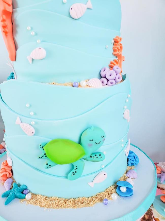 Under the Sea Themed Cake Ideas
