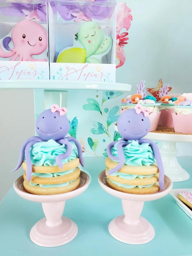 Under the Sea Themed Party Desserts