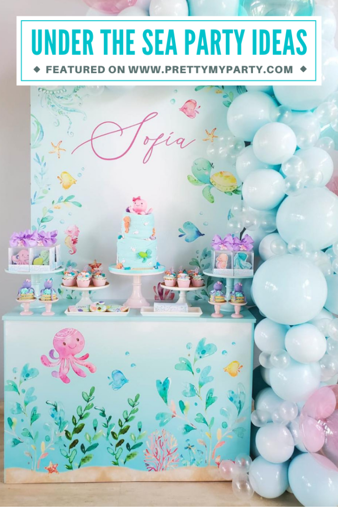 Under the Sea Party Ideas on Pretty My Party