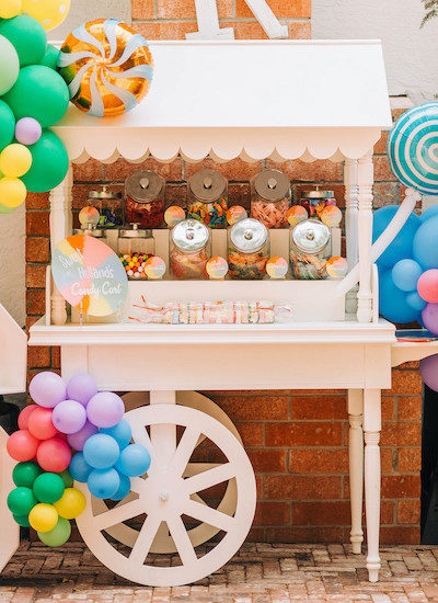 Candy Land Birthday Party Parade