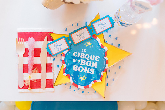 Candy Coated Circus Birthday