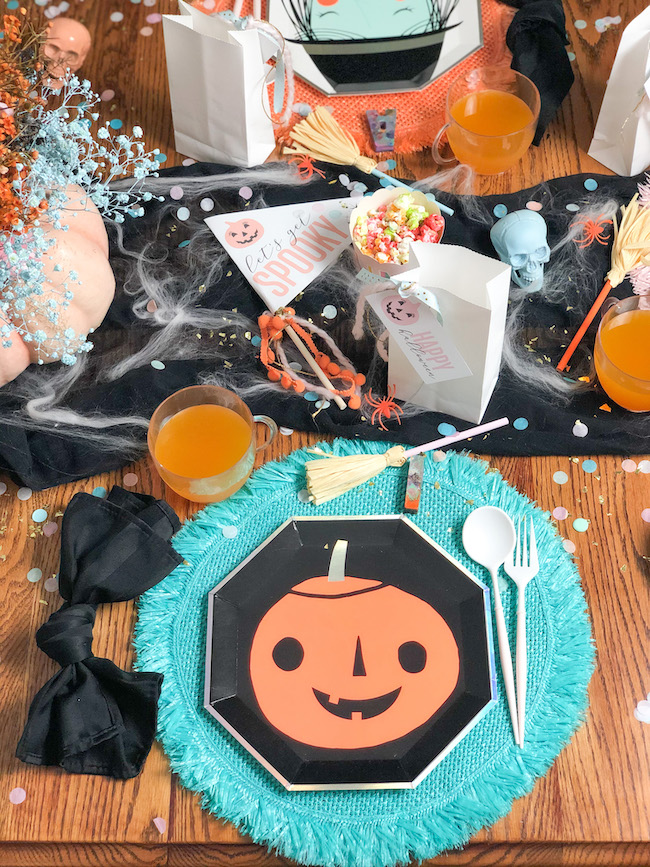 Chic Colorful Kids Halloween Party