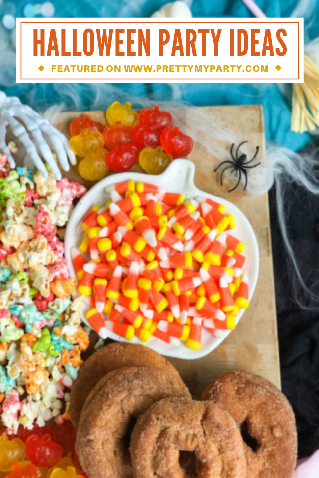 Chic Colorful Kids Halloween Party on Pretty My Party