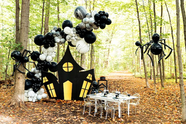 Haunted Wood Halloween Party on Pretty My Party