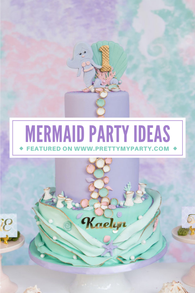 Magical Mermaid Picnic Party on Pretty My Party