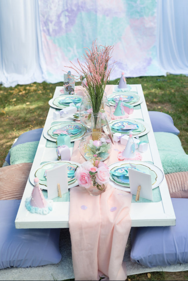 Magical Mermaid Picnic Party