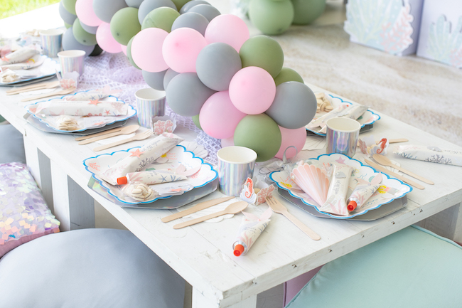Under the Sea Birthday Party on Pretty My Party