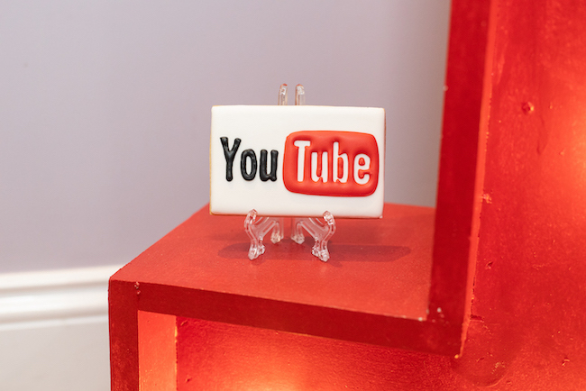 YouTube Themed 13th Birthday Party