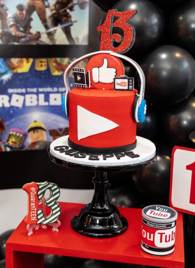 YouTube Themed Party
