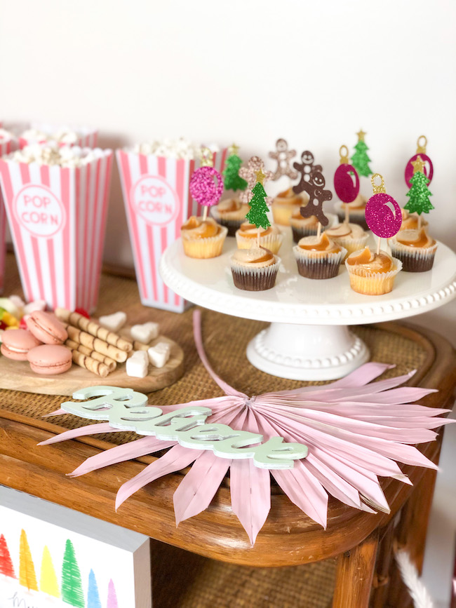 Merry and Bright Rustic Chic Kids Christmas Party
