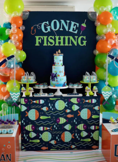 Gone Fishing Birthday Party