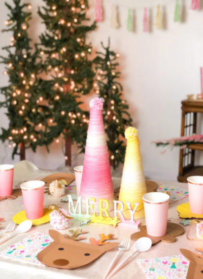 Rustic Chic Kids Christmas Party