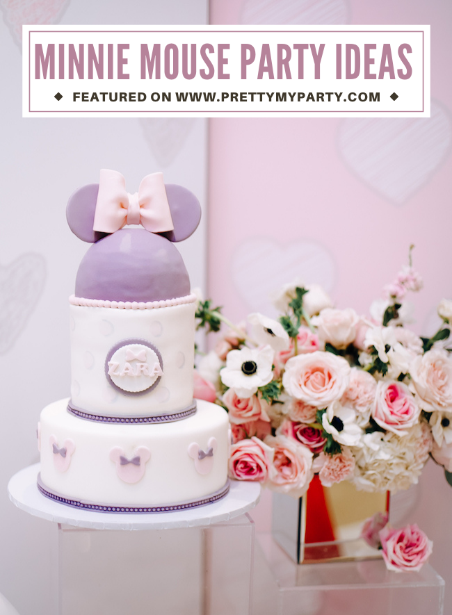 Vintage Minnie Mouse Birthday Party on Pretty My Party