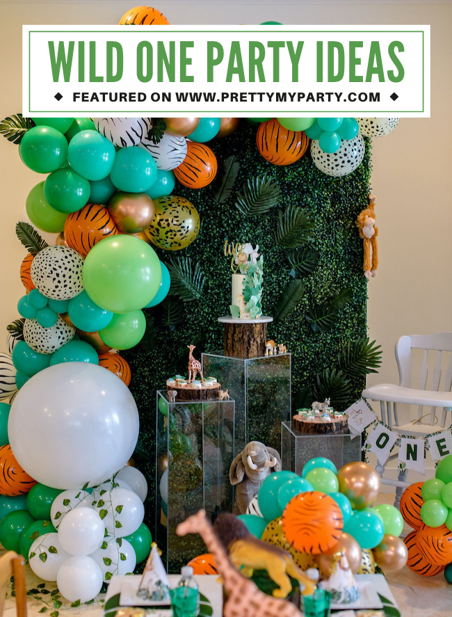 Wild One Birthday Party on Pretty My Party